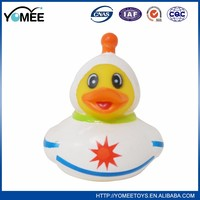 Promotional top quality rubber duck toy for kids bath duck toy