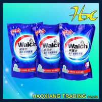 kitchen supplier cleanser packing bag laundry detergent plastic bag