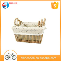 bike accessories bike basket and kit with lining
