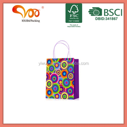 2016 New Arrival Good Quality Eco-friendly promotional rose nylon foldable shopping bag