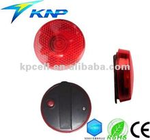 1 LED Clip on Blinking Red Bicycle Light
