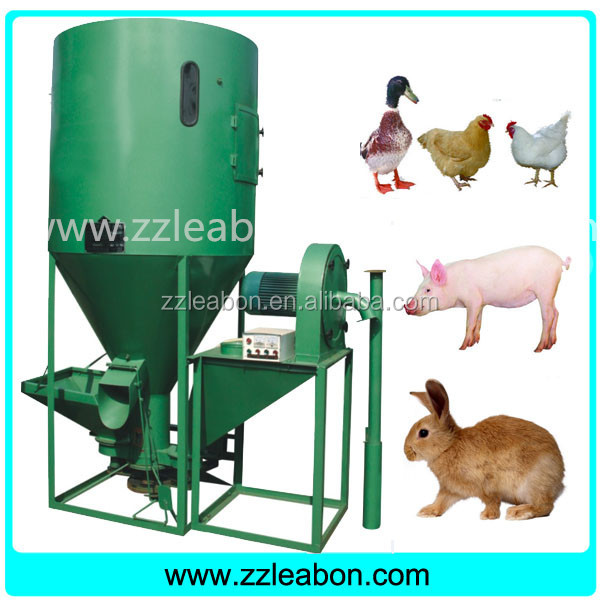Home Use small poultry feed mixer and grinder with CE