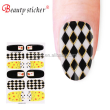 3D real polish nail stickers for melody