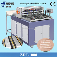 Automatic cellphone case box making machine grooving machine