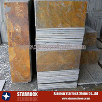 natural rust color slate tiles