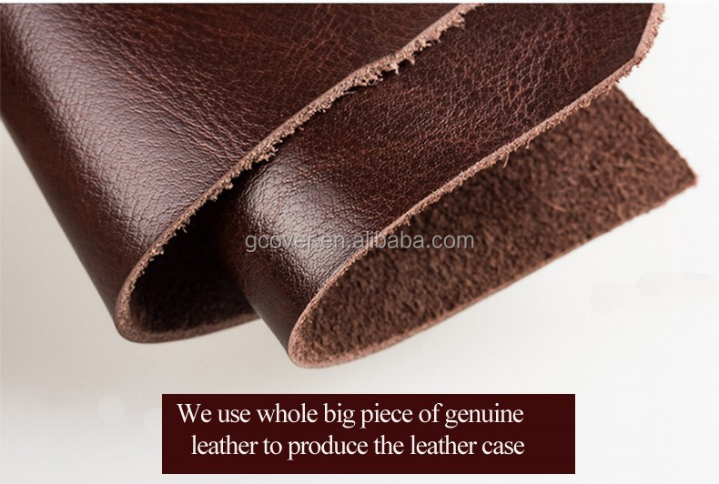 Genuine leather pouch case for Huawei Mate8,smartphone universal phone leather pouch case