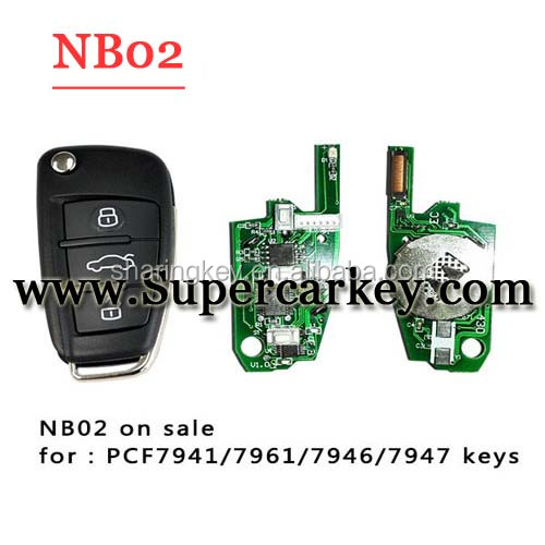 2016 Newest NB02 3 button remote key for KD900 machine with best quality
