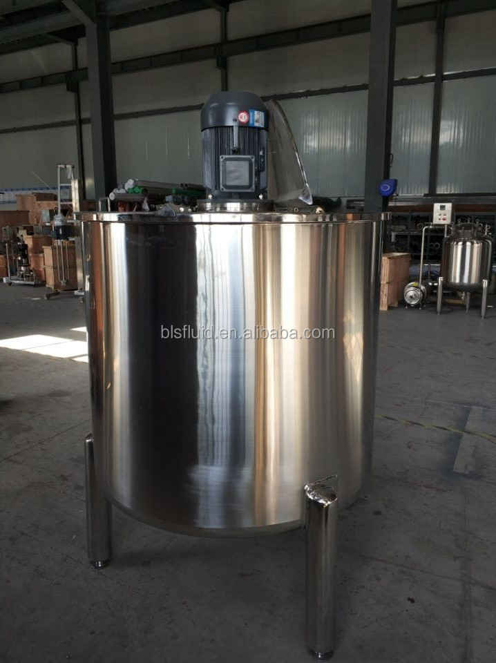 L&B High Quality Customized stainless steel 500L Liquid Mixing Machine