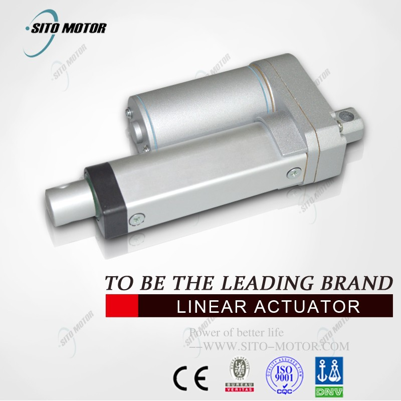 High Efficiency and Low Voltage electromagnetic tubular electric dc linear actuator 12v for solar tracker