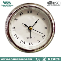 Wholesale old fashion crystal cheap modern human table clock ,crystal desk clock