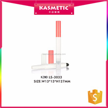 New arrival double ended empty no brand plastic oem lipstick tube stick with cushion