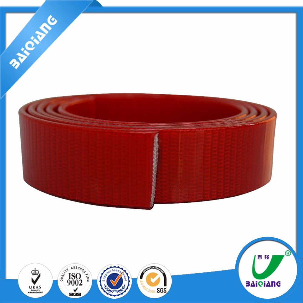 Custom Heavy Duty Polyurethane TPU Coated Nylon Webbing Rubber Coated Nylon Thick Webbing Strp