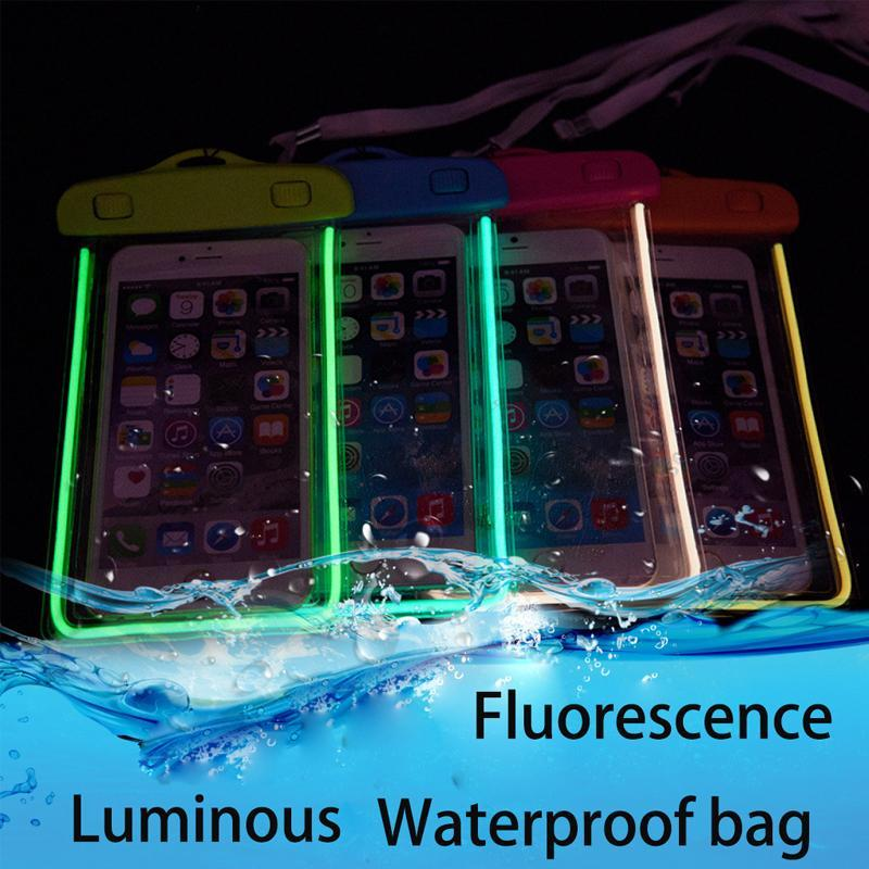 Hot Selling Mobile Phone PVC Bag Swimming Waterproof Pouch For Samsung Galaxy J8 J7 J6 J5 J3 J1 2018 Cell Phone Water proof bag