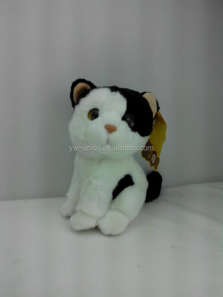 hot and popular plush teddy bear,wearing clothes custom cat toy ,custom mini plush teddy bear toy