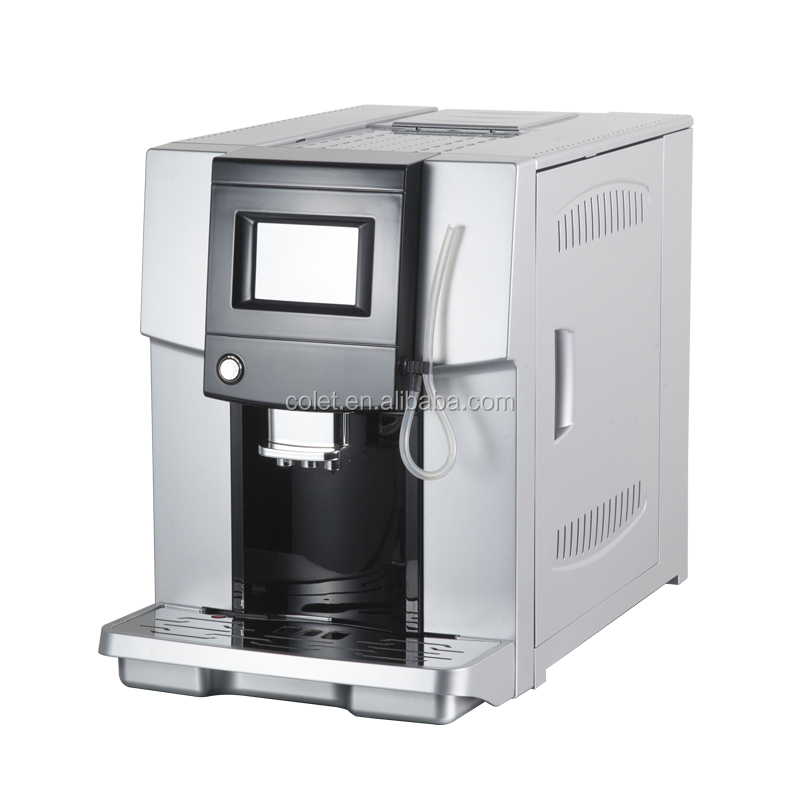 One touch coffee makers machines ABS Plastic Housing Material mini vending machine