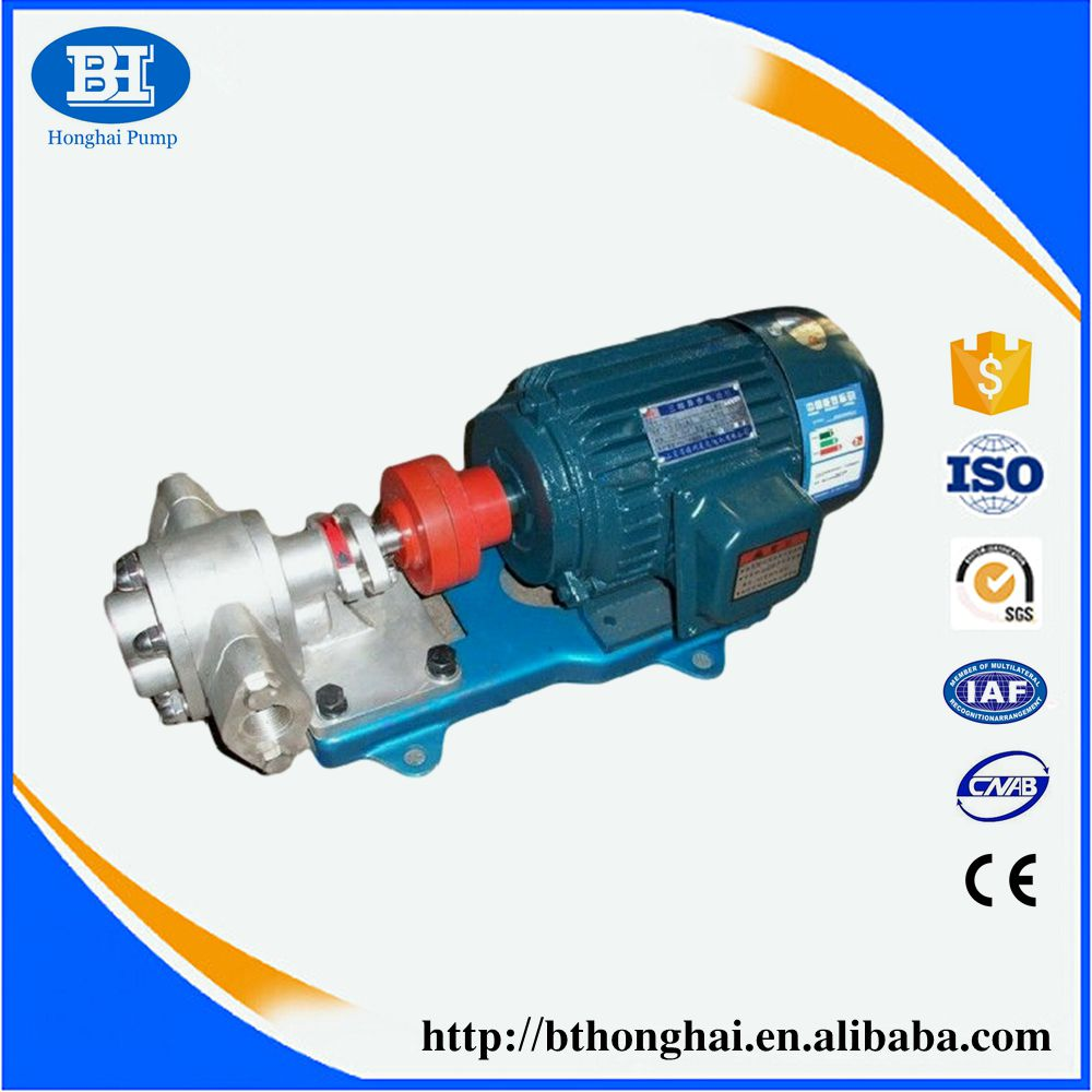 CH/CHY Stainless Steel Gear Oil Pump/unload oil pump