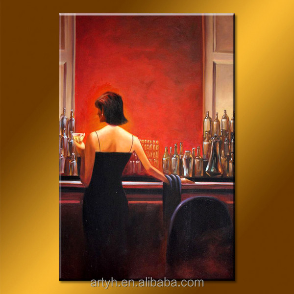 New arrival beautiful women canvas pictures of oil painting for wall