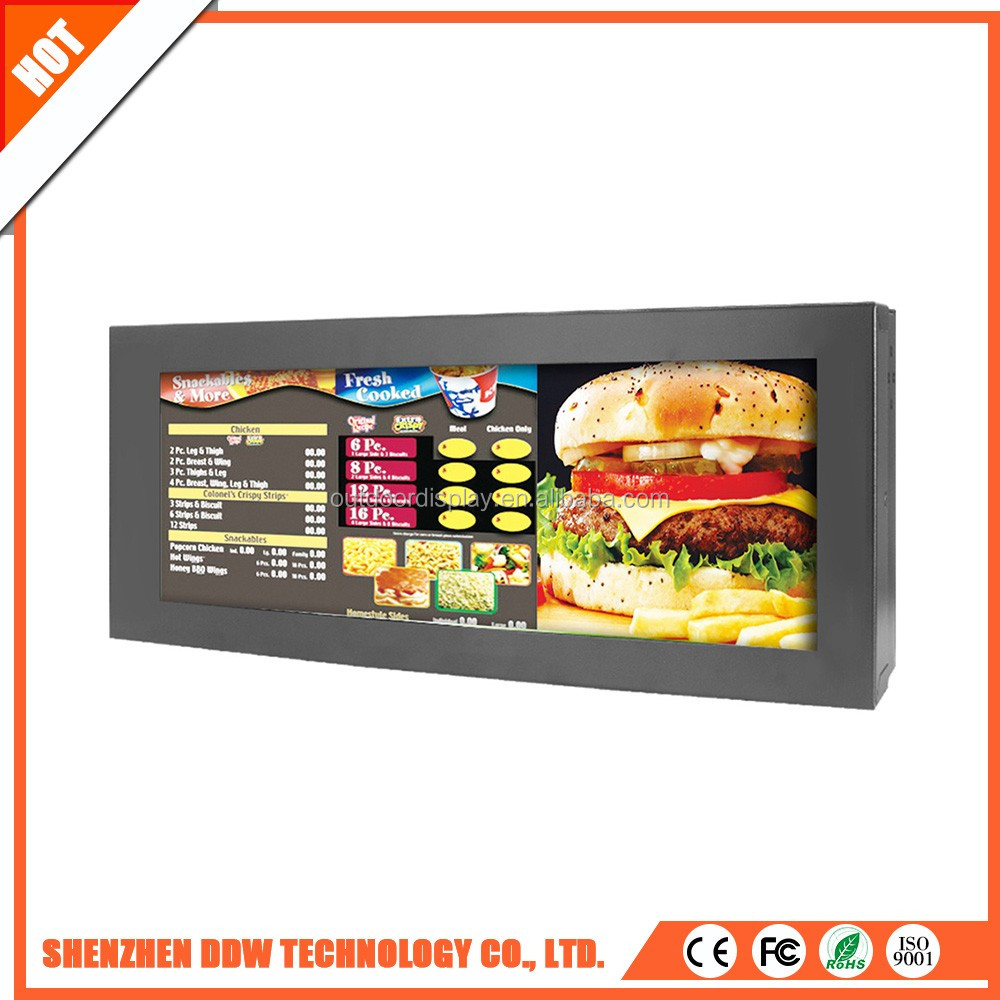 Volume produce durable 4000:1 ir touch Stretched video for supermarket display wall controller