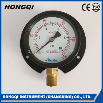 double scale gas pressure gauge manometer