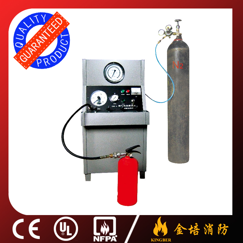 High Quality Fire Extinguisher Nitrogen Filling and Gauge Check Machine