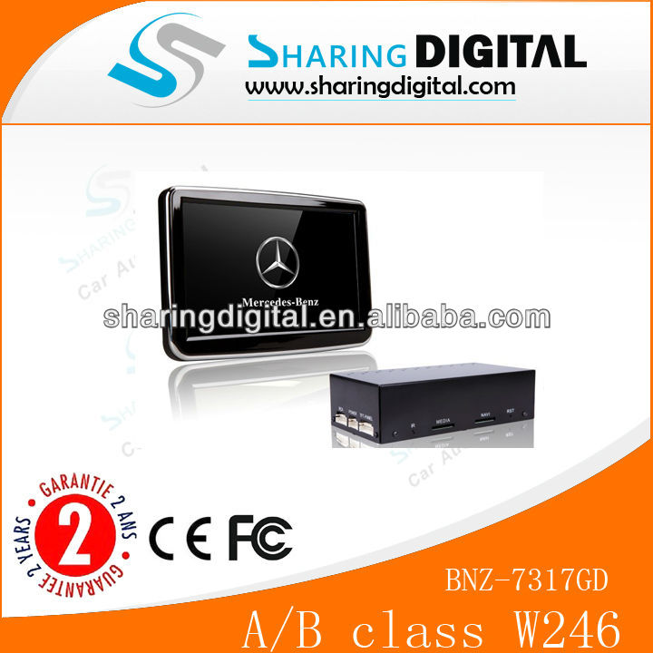 Sharing Digital Car DVD Player with Built in GPS Bluetooth Ipod For W170/W246 ( 2012-2013 )