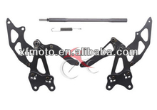 for Kawasaki Ninja 250 2008-2012 09 10 11 Foot Pegs Front set
