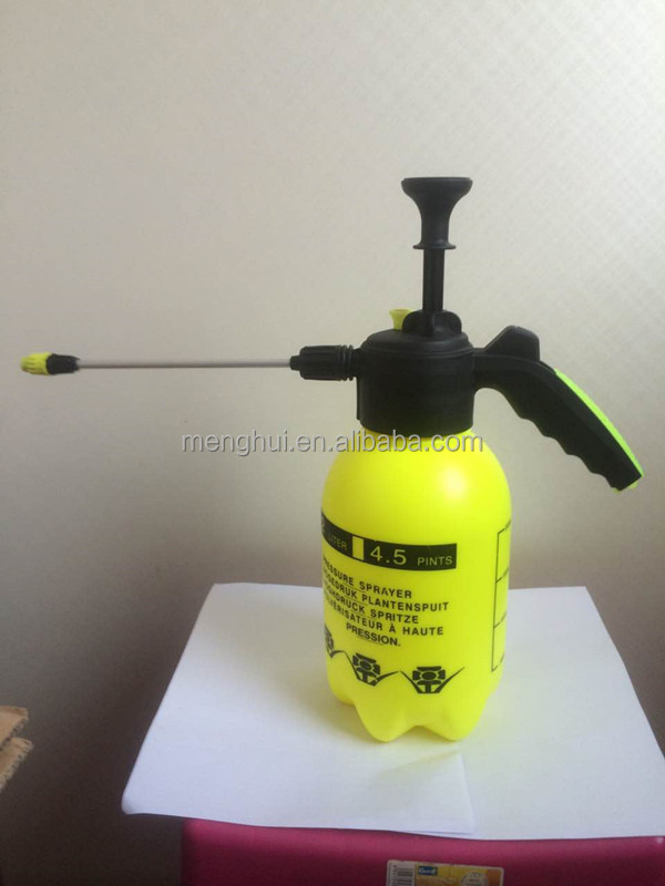 2017 new pressure flower sprayer garden sprayer pump hand water sprayer