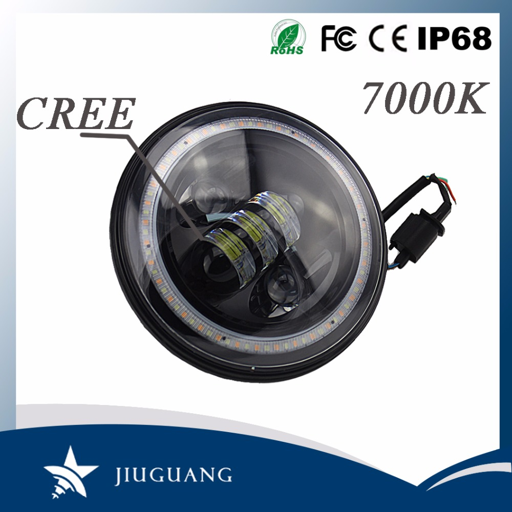 Long Lifespan 50000 Hours 5.67 Inch 50W 30W LED Headlight For Bajaj 150CC Pulsar Motorcycle