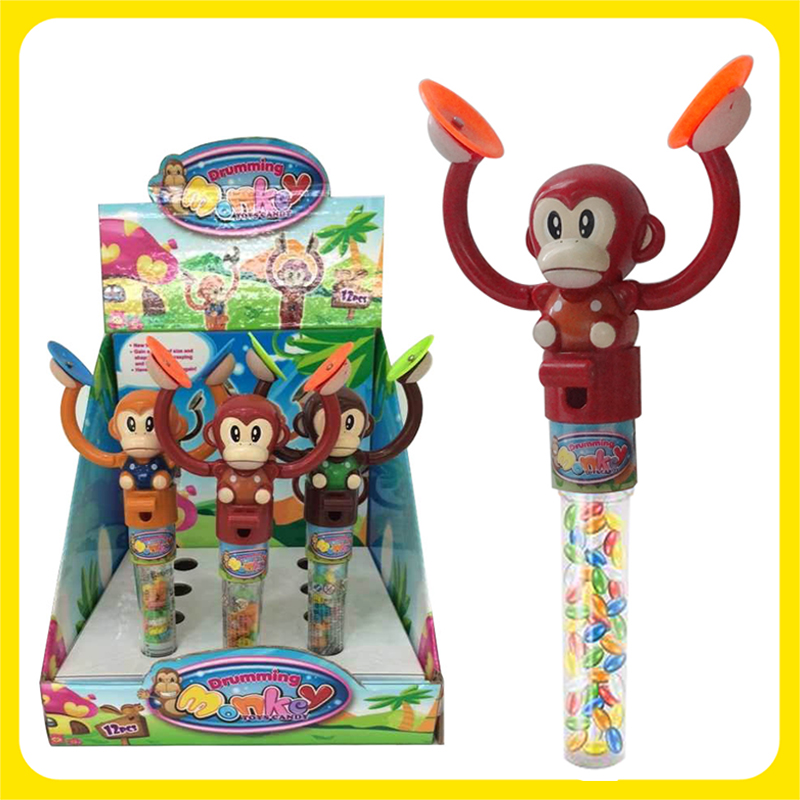Candy Filled Wacky Monkeys 12 Count Box
