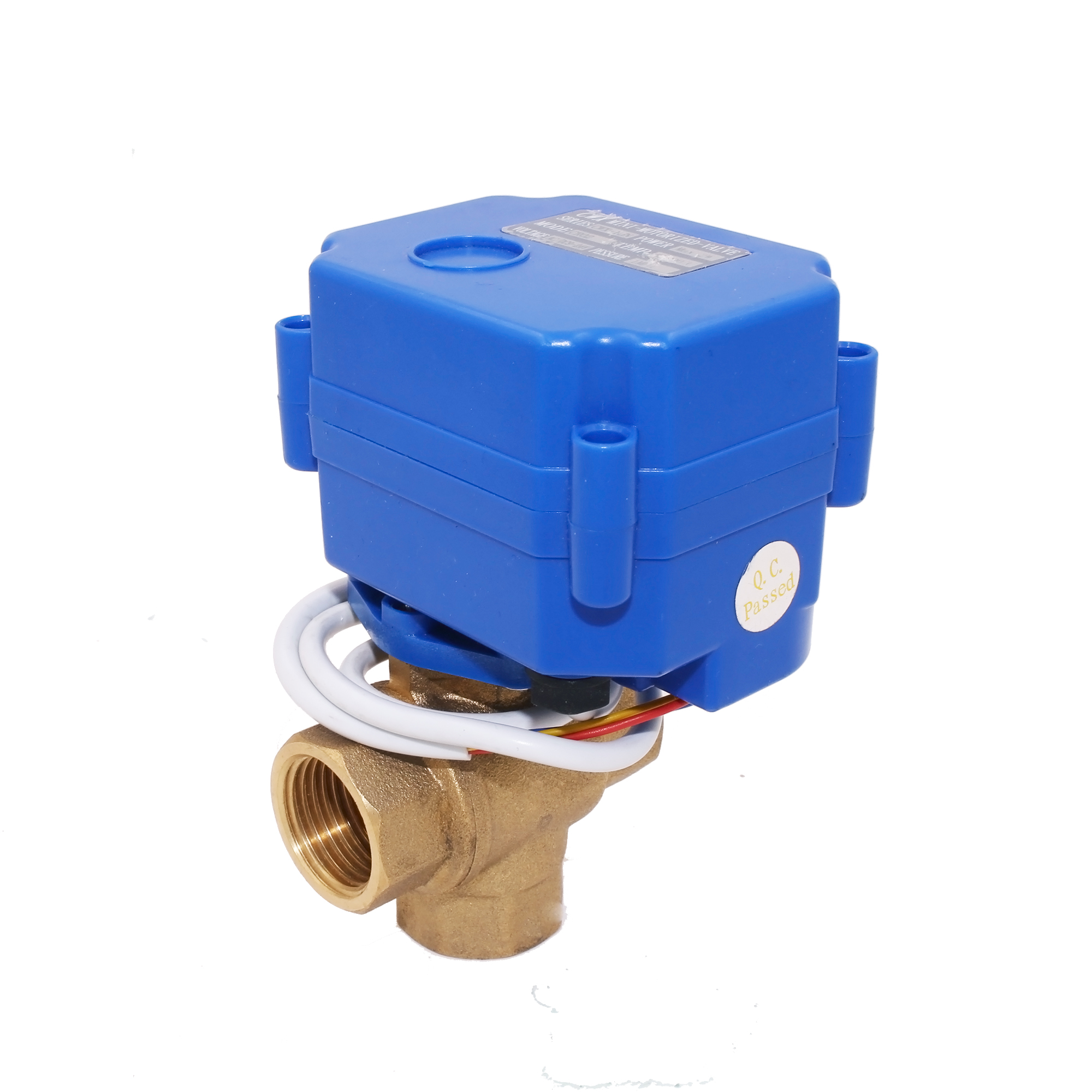 CWX-15N/<strong>Q</strong> 1/2'' 1/4'' 1'' DC3-6V 9-24V AC85-220V Electric ball valve For Water Control equipment and project and irrigation