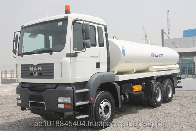 MAN TGA 33.360 6x4 Potable Water Tank