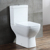 Professional factory supply high quality floor mounted ceramic wc toilet