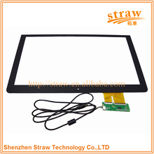 Laptop Screen Apply Transparent Tempering Glass+ Sensor Glass Capacitive Touch Panel 15 inch Touch Screen Digitizer