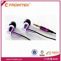 2014In-ear Audio Stereo earphone Microphone and Headphone for MP3 phone high quality with Cheap Price