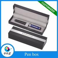 Custom Rigid Cardboard Package Pen Packaging Display Box
