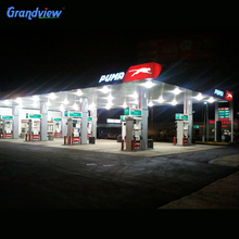 Pylon display for led gas price sign petrol station pillar
