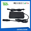 29.4v 24v 2a electric scooter lithium /li-ion battery charger with XLR connector