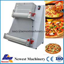 Table top style pizza roller machine/50-500g pizza dough sheeter/commercial used roller press machine