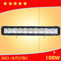 High Power 100w Offroad Led Light Bar For Tractor,Forklift,Atv,Excavator,Heavy Duty Equipment Light Bar