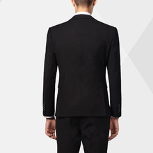 Bulk Order Slim Design Black Office Coat Pant Suit For Men