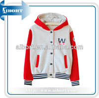 varsity jackets no MOQ,hooded varsity jackets,varsity jackets with hood