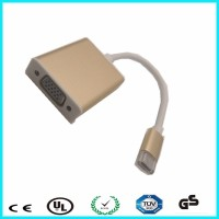 Support 1080P usb-c usb 3.1 type c usb to vag adapter