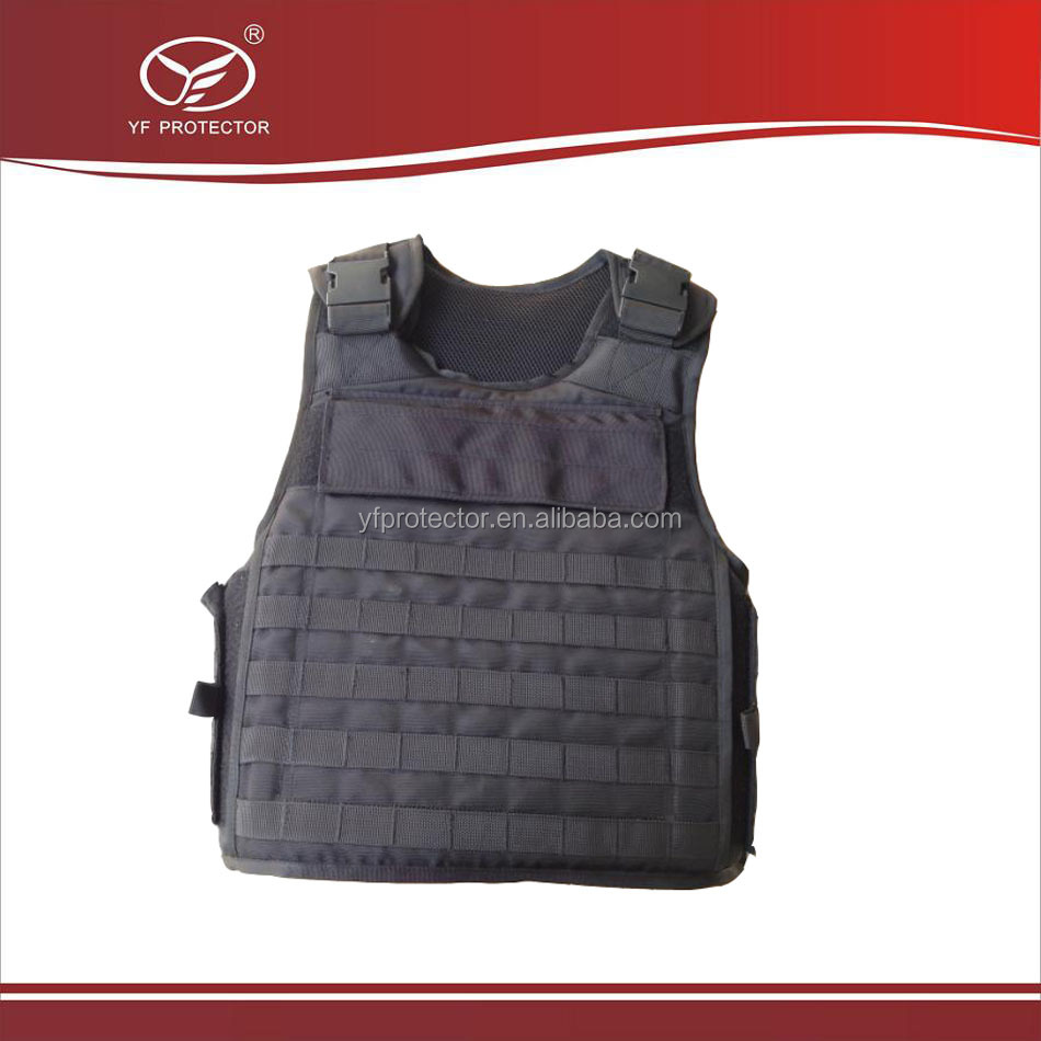Ballistic Military Bulletproof Vest with Molle Webbing in stock