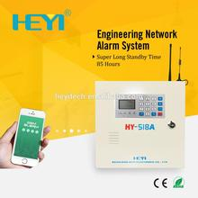 HEYI-518A Touch Keypad GSM Phone SMS SIM Card / Pstn Dual-network Alarm System