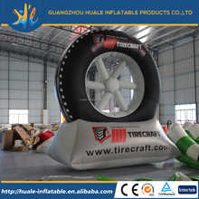 High quality PVC outdoor inflatable tire advertising display