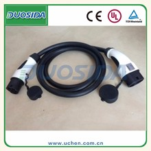 Dostar iec 62196 type 2 to type 2 EVSE EV vehicle charging cable