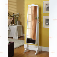 large floor jewelry armoire for bedroom or living room