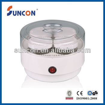 white electirc yoghurt making machine with 4cups