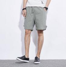 zm54125a 2017 new arrival Casual style men summer linen shorts
