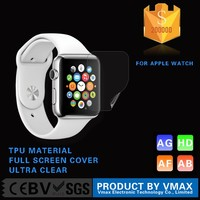 Full Screen Cover !! TPU Material High Clear Smart Watch Screen Guard for Apple watch edition